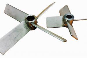 flat blade impeller